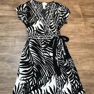Donna Morgan wrap dress